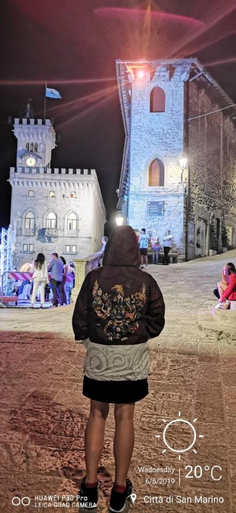 Garuda Goes to San Marino   dokpri