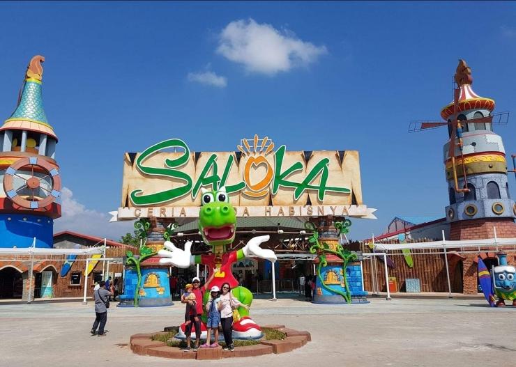 Saloka Fun Park (Foto : Dokumen Pribadi)