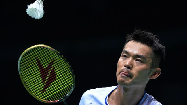 Lin Dan, pemain China (Foto AFP)