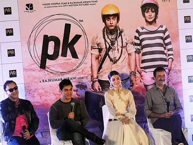 Konferensi Pers PK Bersama sang sutradara Paling Kanan (bollywoodlife.com)