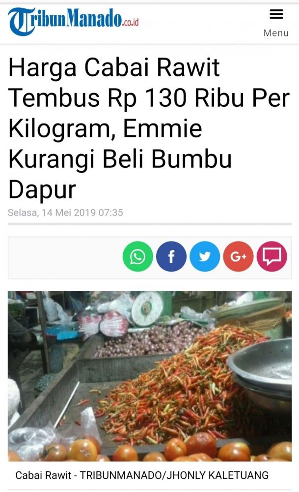 Sumber Foto & Berita : Media Tribun Manado