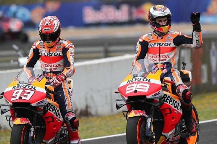 Marc Marquez dan Jorge Lorenzo. (Autosport.com)