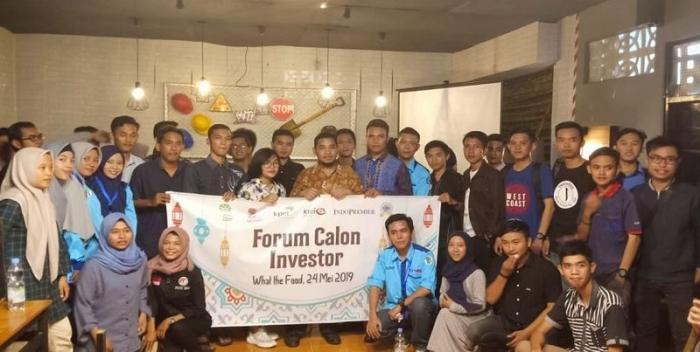 Forum Calon Investor di Restoran What The Food Bengkulu (Foto: Dok. Pribadi)
