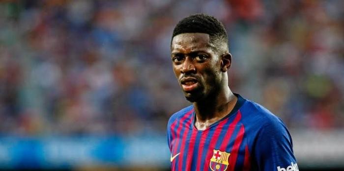 Ousmane Dembele baru dapat bermain lebih dari 20 kali di La Liga musim 2018/19. (Unosport.tv)