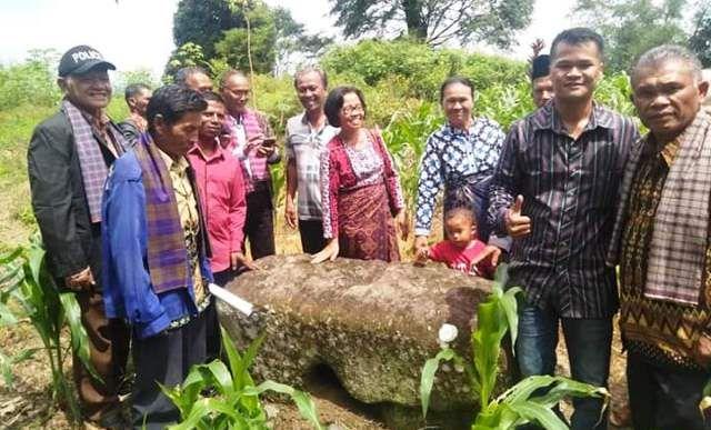 Keturunan Raja Pamahar Pardosi di Lesung Batu (Facebook/Andi Pardosi)