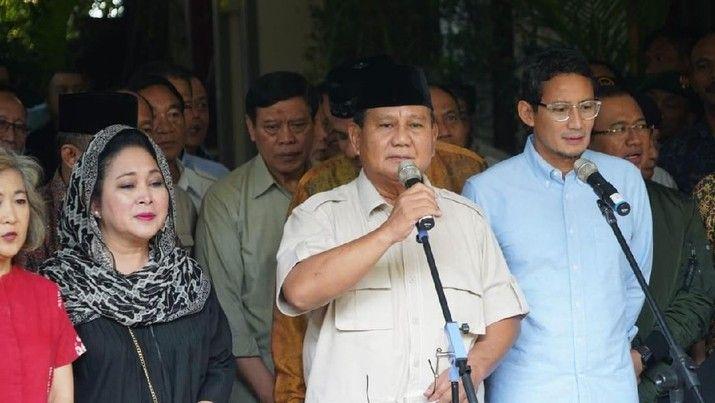 Prabowo-Sandiaga bersama Para Elit Pendukung (Gambar: cnbcindonesia.com)