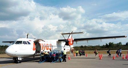 Wings Air ATR 72/600 yang sering saya tumpangi ke daerah (dokpri)