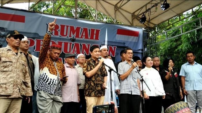 Deklarasi Gerakan Nasional Kedaulatan Rakyat (GNKR), 17/5/2019. Gambar: netralnews.com