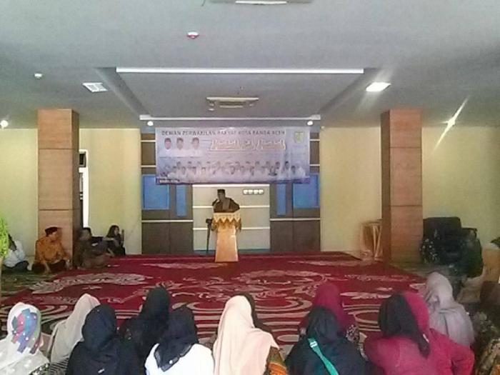Tausyiah Halal Bi Halal 1440 H di Gedung DPRK Banda Aceh | dokpri