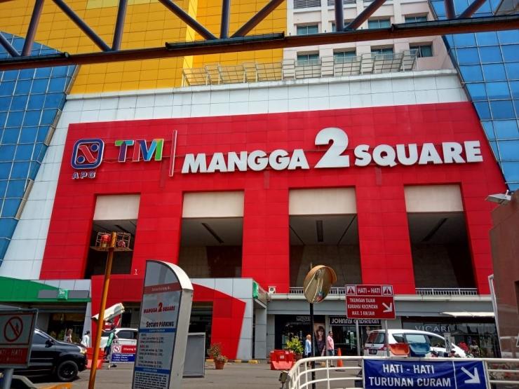 Beli baju branded murah di Factory Outlet Jakarta yang ada di Mangga Dua Square (dokpri)