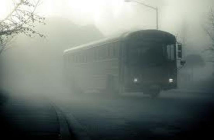 Ilustrasi bus berhantu (www.flickr.com)