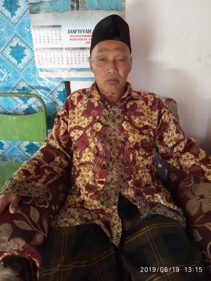 Pak Dul adalah sosok yang menjadi teladan di lingkungan kami (Foto: Dokumentasi Pribadi)