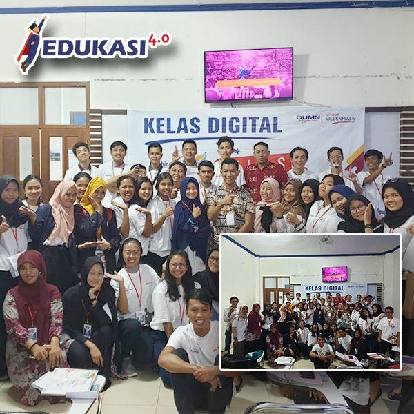 Kelas Kreatif BUMN bersama edukasiempatnol.com @ Univ. Darmajaya Lampung