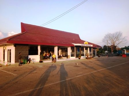 Gedung Ruang Tunggu Baru DAMRI Lampung (Dokpri)