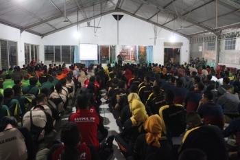 Peserta Jambore Satpol PP KE-IX tingkat provinsi Jawa Tengah tahun 2019 (foto muhdi Pendim)