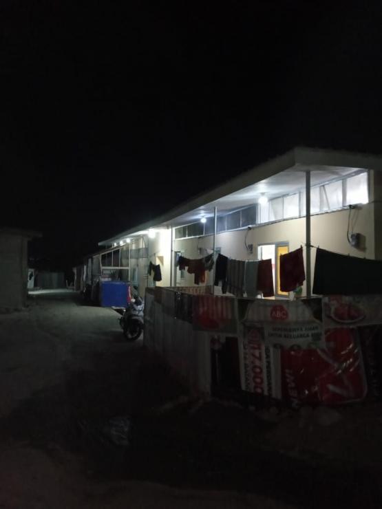 Diduga di Huntara di wilayah melakukan pendataan diduga tidak merata. Foto: Istimewa