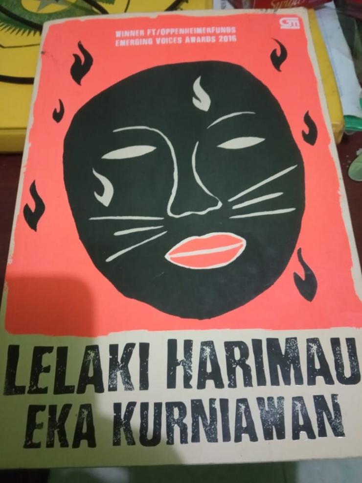 Novel Lelaki Harimau karya Eka Kurniawan | dokpri