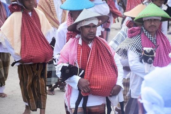 Foto by Andi Tuasikal | Tradisi Idul Qurban di Negeri Matasiri - Pelauw Kab. Maluku Tengah 2019