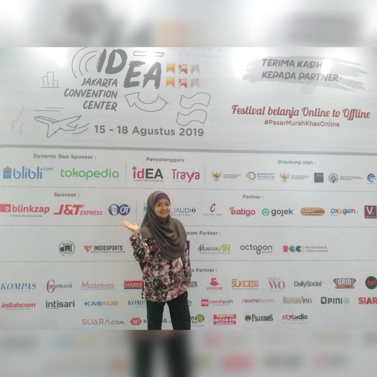 Pasar IdEA, Festival Belanja Online to Offline di JCC Senayan. (dokpri)