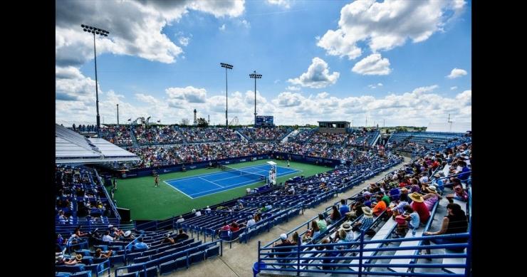 Arena Lindner Family Tennis Center tempat berlangsungnya 2019 Western & Southern Open (sumber: Journal-News.com)