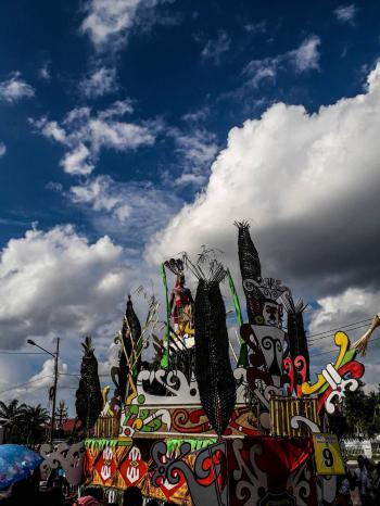 Festival Budaya Isen Mulang 2019, Kota Palangka Raya (Sumber: Dokumentasi Pribadi)