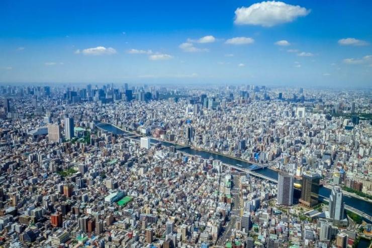 Pemandangan Wilayah Megapolitan Tokyo, Sumber: japantimes.co.jp