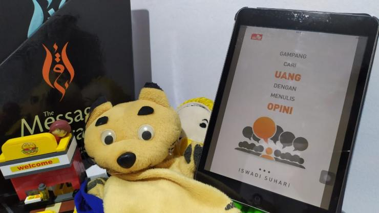 Cover Buku 'Gampang Cari Uang dengan Menulis Opini | Dok. pribadi