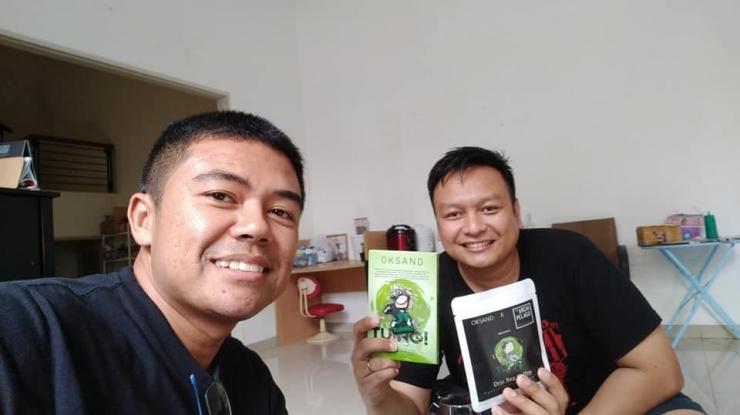 Bersama Danang, pemilik Brand Kopi Archipelago