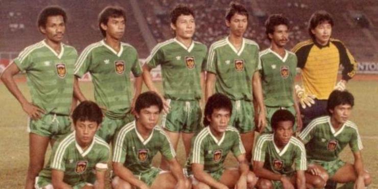 Timnas Indonesia Pra-Piala Dunia 1986 (Dok. Bola)
