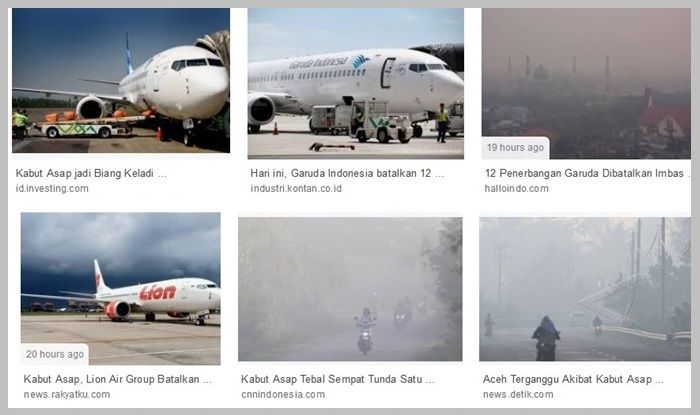 Satu flight saja batal, maskapai rugi 3.000 dolar Amerika Serikat (AS) per jam. Maka, bisa kita prediksi, betapa besarnya kerugian yang diderita Lion Air Group yang membatalkan 81 penerbangan dan Garuda Indonesia yang membatalkan 12 penerbangan. Foto: Capture dari laman google
