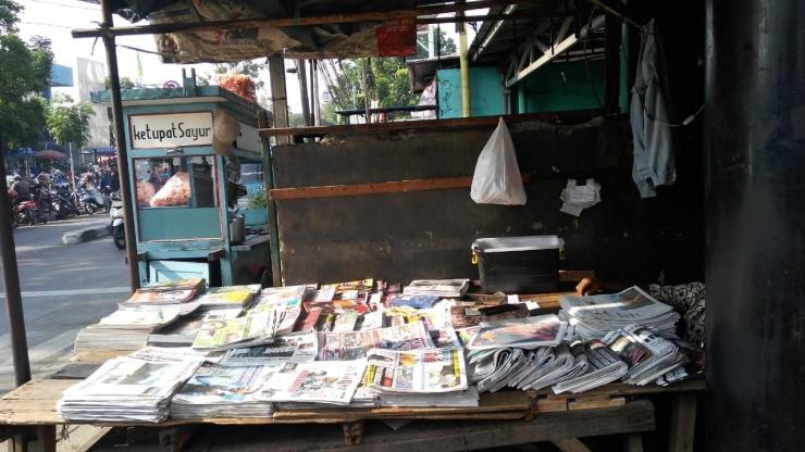Agen Koran di Pasar Pondok Labu