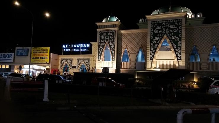 Masjid At-Taubah di Rest Area 57 Tol Cipularang.
