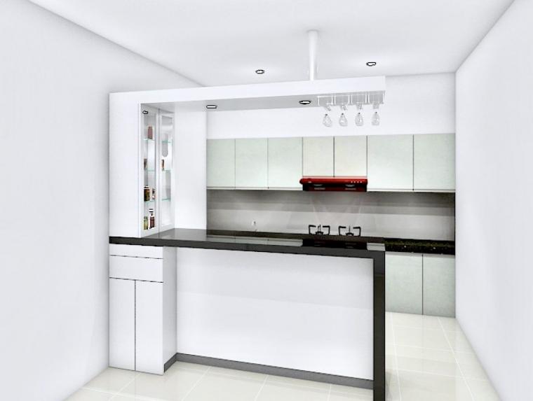 37+ Mini Bar Kitchen Set Hitam Putih Pics
