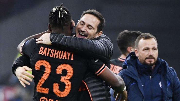 Frank Lampard dan Batshuayi (Foto UEFA.com)