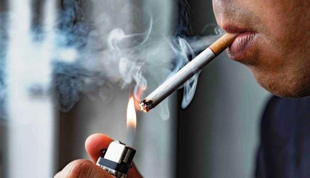 Ilustrasi Merokok (Shutterstock via Kompas.com)
