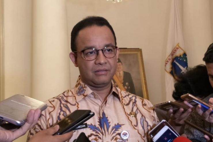 Gubernur DKI Jakarta Anies Baswedan | Gambar: KOMPAS.com