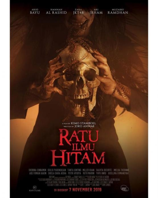 Poster film Ratu Ilmu Hitam (2019). (Rapi Films)