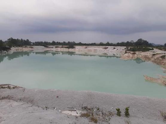 Danau Kaolin Belitung   dokpri