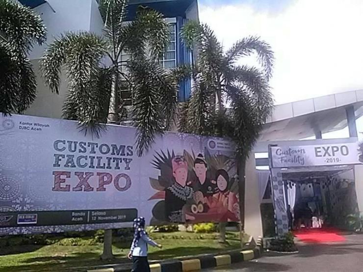 Customs Facility Expo 2019 dan FGD di Kanwil DJBC ACeh