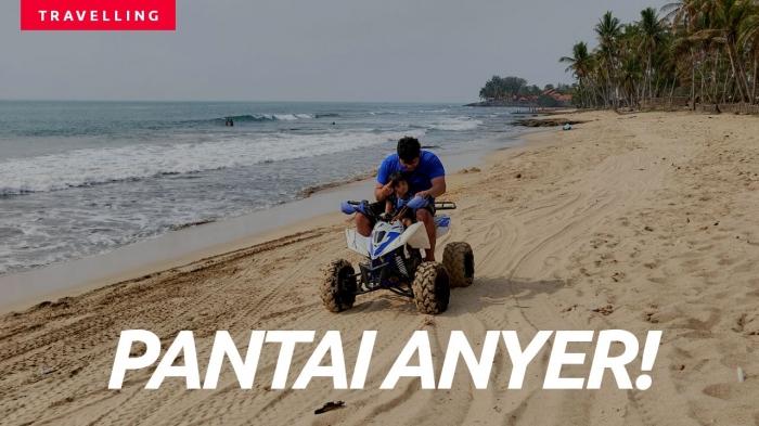 Pantai Anyer saat ini | Dok. Pribadi