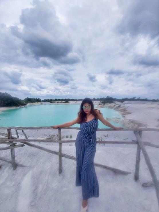 Danau Kaolin di Belitung | instagram.com/laurayolla