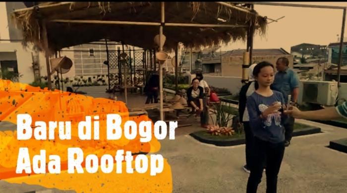 Yang baru di Bogor, ada rooftop. Foto: isson khairul