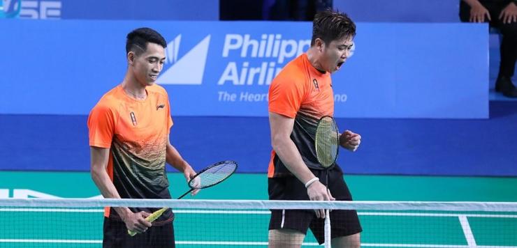 Pasangan Wahyu Nayaka (kanan) dan Ade Yusuf, menjadi satu-satunya harapan Indonesia di ganda putra untuk meraih medali/Foto: badmintonindonesia.org
