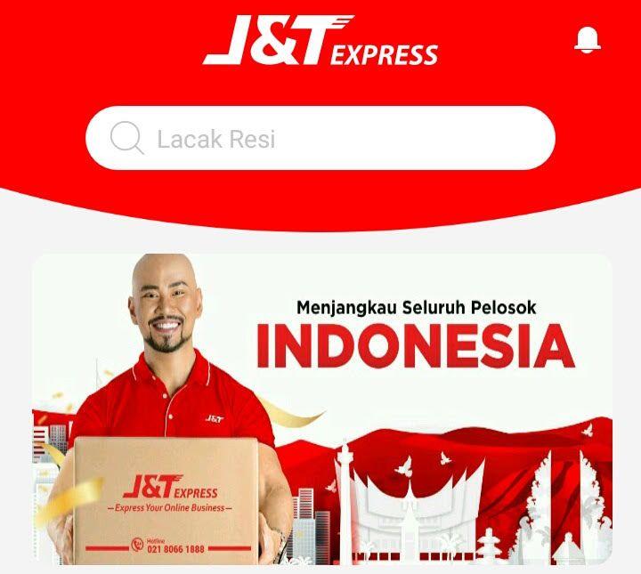 J&T Express (sumber gambar: screenshot aplikasi J&T express)