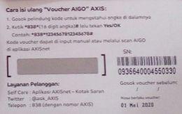 vocer axis 5e045acc097f3664b81d74d2
