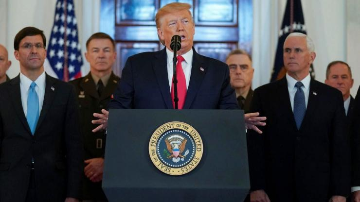 Trump menyatakan Iran sudah menarik diri dari konflik militer (doc.France 24)