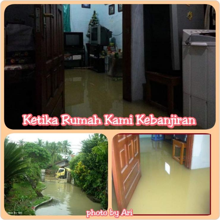 Photo by Ari. Kenangan banjir di masa lalu