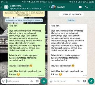 Perbedaan Pesan Siaran Whatsapp Dan Broadcast Wabot Halaman All Kompasiana Com