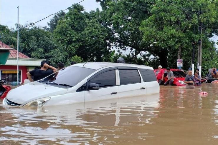 Banjir (kompas.com/SYIFA NURI KHAIRUNNISA)