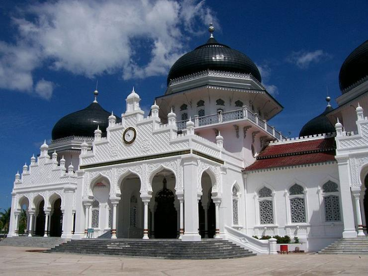 Masjid Raya Baiturrahman Banda Aceh (semarak.news)